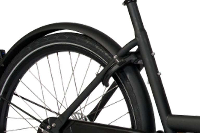E-Dolly Bakfiets Bafang 450Wh Mat Black