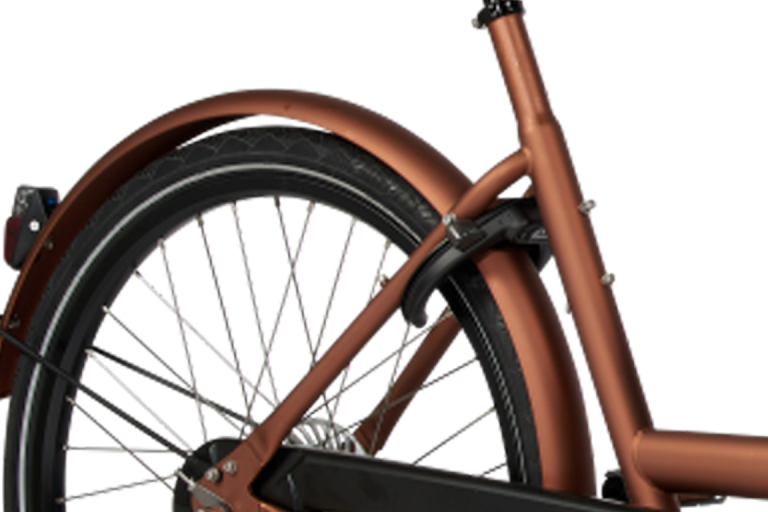 E-Dolly Bakfiets Bafang 450Wh Blazing Copper Mat