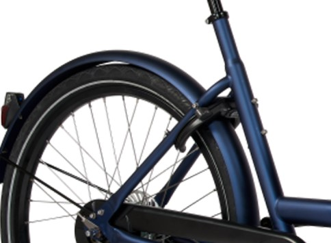 E-Dolly Bakfiets Bafang 450Wh Jeans Blue Mat